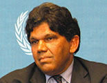 Mr. Bertrand Ramcharan, United Nations High Commissioner for Human Rights, 2003 - 2004
