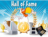 Hall of Fame (Winners of CyberDodo's tournaments)