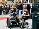 The drummer street