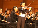 A professional violinist of 7 years